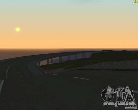 Gebäude der Straße nach Criminal Russland beende für GTA San Andreas dritten Screenshot