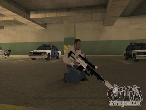 Chrome Weapons Pack für GTA San Andreas her Screenshot