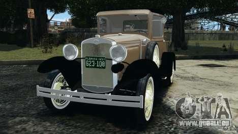 Ford Model A Pickup 1930 pour GTA 4