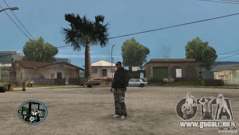 GTAIV HUD für ein Wide screen (16: 9) v2 für GTA San Andreas