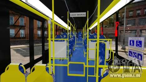 Busscar Urbanuss Pluss 2009 Le VIP Itaim Paulist für GTA 4 Rückansicht
