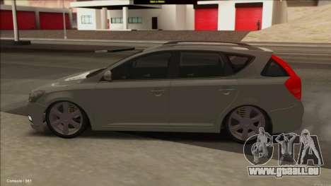 Kia Ceed SW pour GTA San Andreas laissé vue