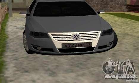 Volkswagen Passat B6 Variant für GTA San Andreas Rückansicht