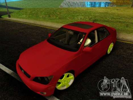 Lexus IS300 Edit für GTA San Andreas