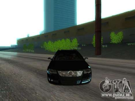 Volkswagen Passat B6 Variant Com Bentley 20 Fixa für GTA San Andreas obere Ansicht
