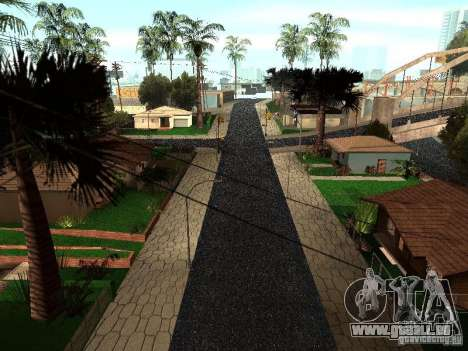 Le New Grove Street pour GTA San Andreas deuxième écran