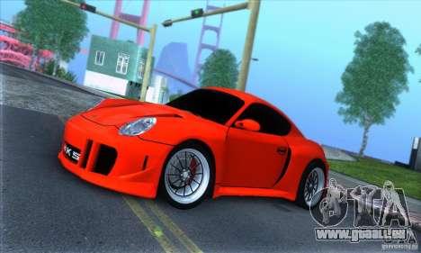 Porsche Cayman S v2 pour GTA San Andreas laissé vue
