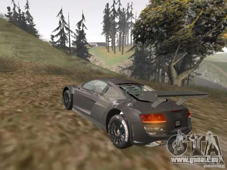 Audi R8 LMS v3.0 für GTA San Andreas Innenansicht