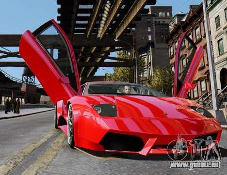 Lamborghini Murcielago RSV FIA GT1 für GTA 4