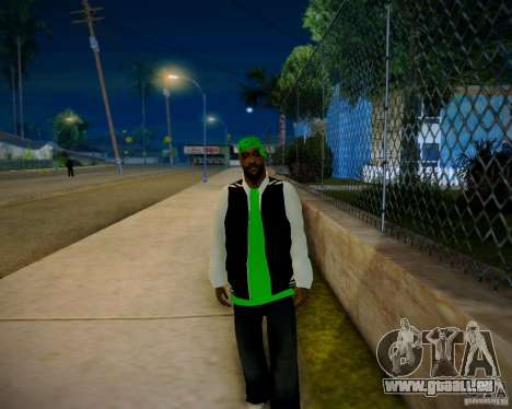 Skins pack gang Grove für GTA San Andreas her Screenshot
