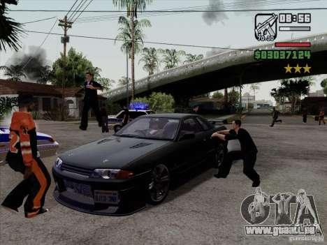 Close Doors for Cars für GTA San Andreas dritten Screenshot
