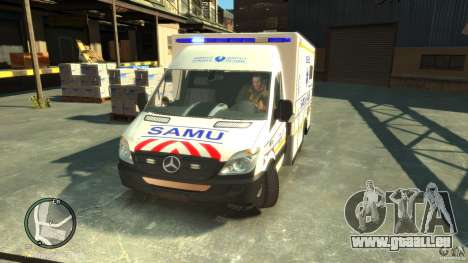 Mercedes-Benz Sprinter Ambulance pour GTA 4