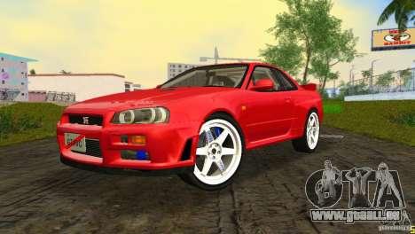 Nissan Skyline GTR R34 pour GTA Vice City
