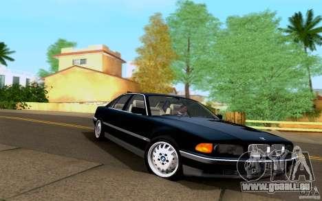 BMW 730i E38 FBI pour GTA San Andreas