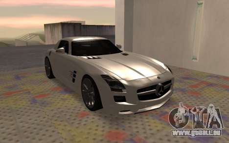 Mercedes-Benz SLS AMG 2010 pour GTA San Andreas vue de droite