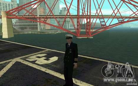 Admiral HD pour GTA San Andreas cinquième écran