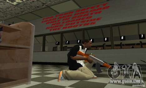 Le nouveau AK-47 pour GTA San Andreas troisième écran