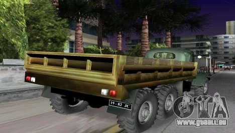 ZIL-157 pour une vue GTA Vice City de la gauche