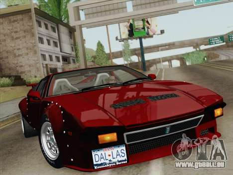 De Tomaso Pantera GT4 für GTA San Andreas Motor