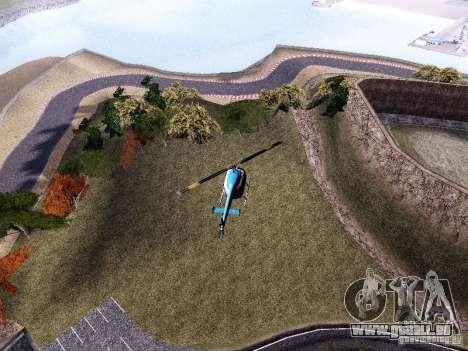Laguna Seca Raceway pour GTA San Andreas troisième écran