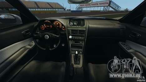 Nissan Skyline GT-R R34 pour GTA 4 Vue arrière