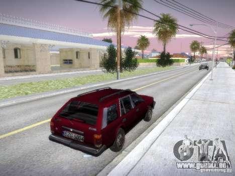 Nissan Bluebird Wagon pour GTA San Andreas vue de droite
