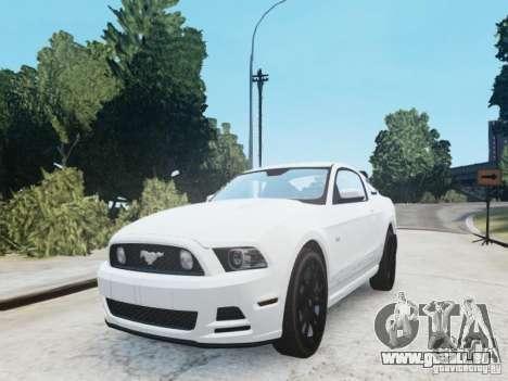 Ford Mustang GT 2013 pour GTA 4 est un droit