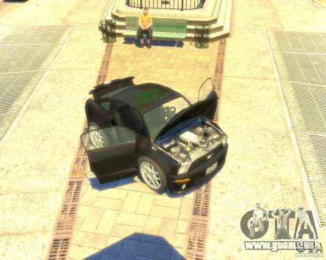 Ford Mustang Mini GT Beta pour GTA 4 est une gauche