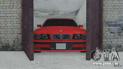BMW 525i E34 pour GTA San Andreas vue de côté