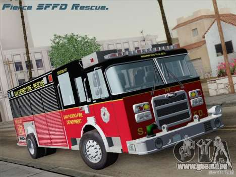Pierce SFFD Rescue für GTA San Andreas