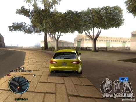 Indicateur de vitesse électronique pour GTA San Andreas quatrième écran
