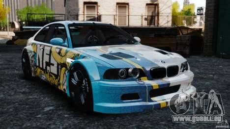 BMW M3 GTR MW 2012 pour GTA 4