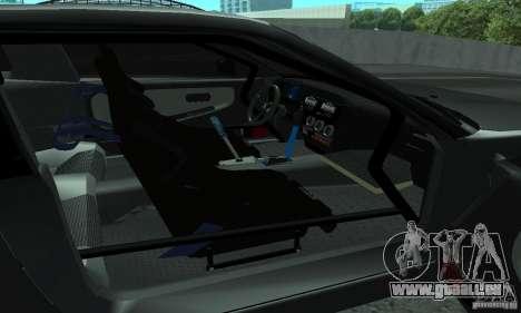 Nissan 200SX Turbo pour GTA San Andreas vue intérieure