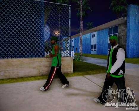Skins pack gang Grove pour GTA San Andreas septième écran
