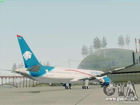 Boeing 787-8 Dreamliner AeroMexico pour GTA San Andreas laissé vue