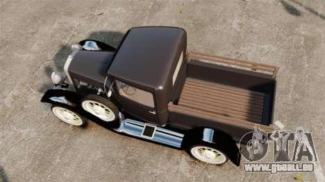 Ford Model T Truck 1927 für GTA 4 rechte Ansicht