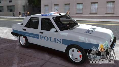 Tofas Sahin Turkish Police ELS pour GTA 4 est une gauche