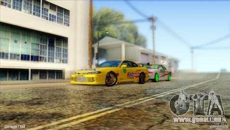 Nissan Silvia S15 NGK pour GTA San Andreas laissé vue