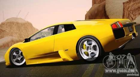 Lamborghini Murcielago 2002 v 1.0 für GTA San Andreas linke Ansicht