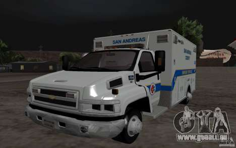 Chevrolet C4500 Ambulance für GTA San Andreas