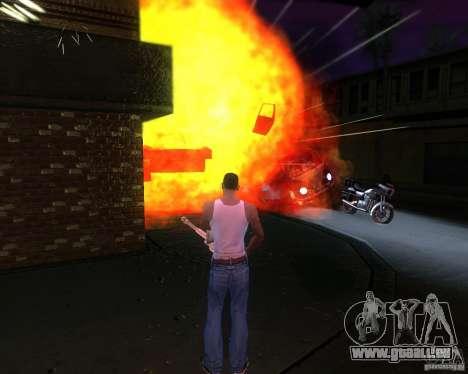ENBSeries pour moyen- et haute puissance PC pour GTA San Andreas quatrième écran