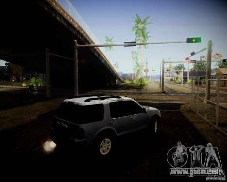 Ford Explorer pour GTA San Andreas vue intérieure