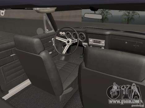 Chevrolet Corvair Monza 1969 für GTA San Andreas Seitenansicht