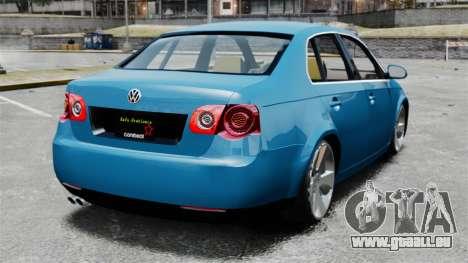 Volkswagen Jetta 2010 pour GTA 4 Vue arrière de la gauche