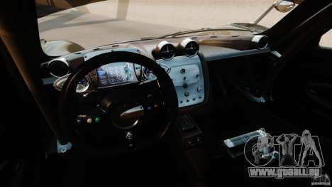 Pagani Zonda R 2009 für GTA 4 Rückansicht