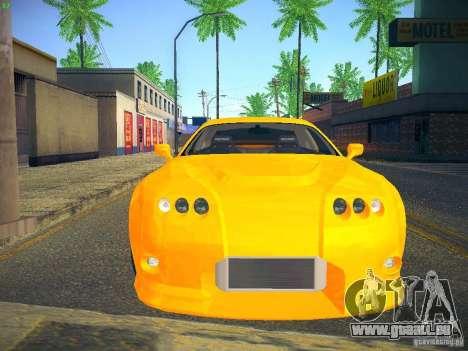 Toyota Supra VeilSide Fortune 2003 pour GTA San Andreas laissé vue