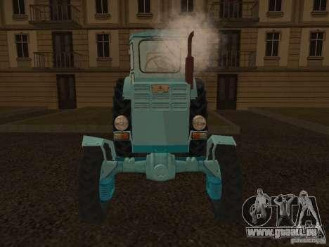 Traktor T-40 m für GTA San Andreas rechten Ansicht