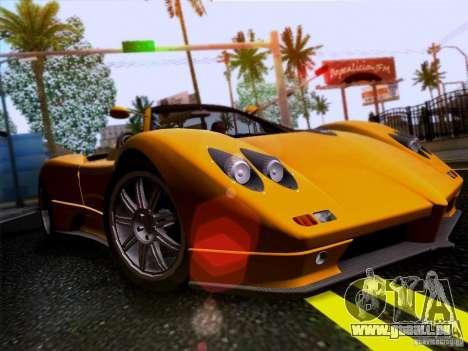 Pagani Zonda C12S Roadster für GTA San Andreas