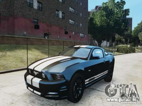 Ford Mustang GT 2013 pour GTA 4