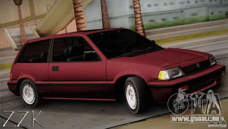 Honda Civic Si Coupe für GTA San Andreas